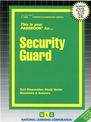 cover image of Security Guard