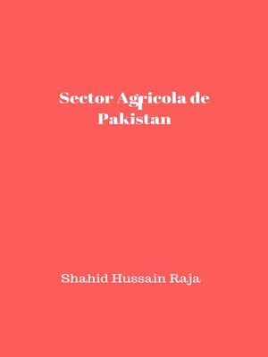 cover image of Sector Agrícola de Pakistán