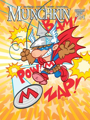 cover image of Munchkin (2015), Issue 24