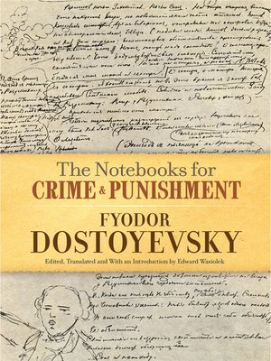cover image of The Notebooks for Crime and Punishment