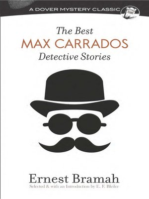 cover image of The Best Max Carrados Detective Stories