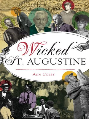 cover image of Wicked St. Augustine