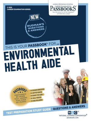 cover image of Environmental Health Aide