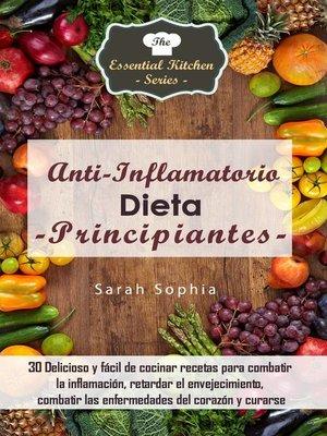 cover image of Dieta Antiinflamatoria para Principiantes