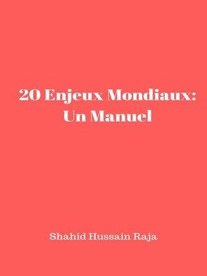 cover image of 20 Enjeux Mondiaux