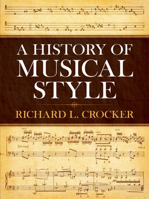 cover image of A History of Musical Style