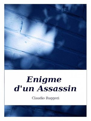 cover image of Enigme d'un Assassin
