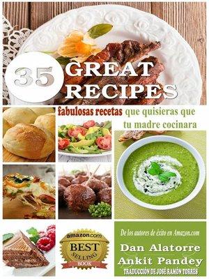 cover image of 35 fabulosas recetas que quisieras que tu madre cocinara