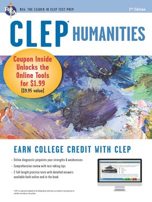 cover image of CLEP Humanities w/ Online Practice Exams