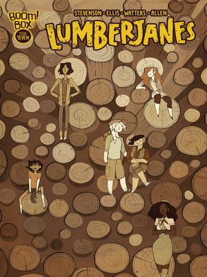 cover image of Lumberjanes (2014), Issue 7