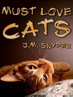 cover image of Must Love Cats