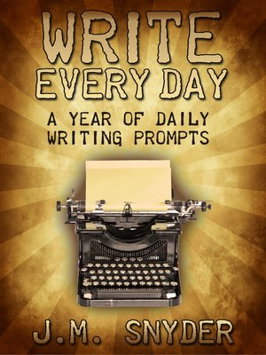 cover image of 365 Daily Prompts for Writers