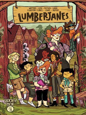 cover image of Lumberjanes #25