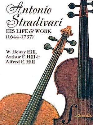cover image of Antonio Stradivari