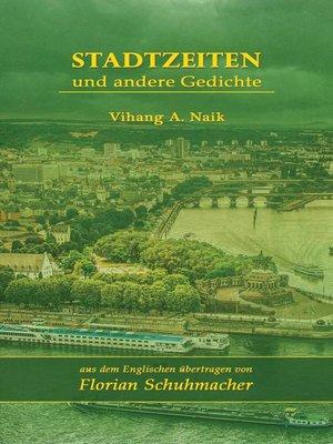 cover image of Stadtzeiten und andere Gedichte