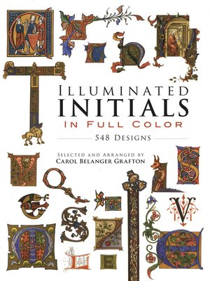 cover image of Illuminated Initials in Full Color
