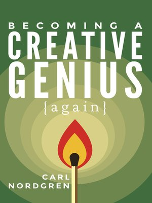 cover image of Becoming a Creative Genius {again}