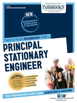 cover image of Principal Stationary Engineer