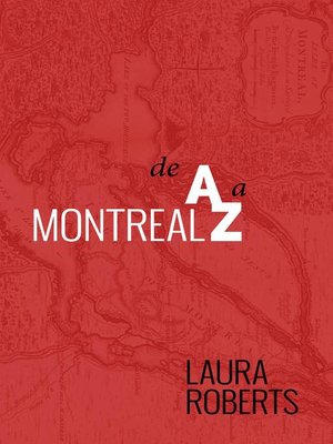 cover image of Montreal De A A Z