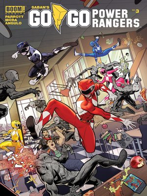 cover image of Saban's Go Go Power Rangers, Issue 3