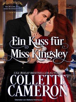 cover image of Ein Kuss für Miss Kingsley