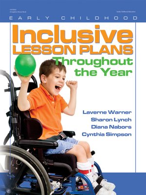 cover image of Inclusive Lesson Plans Throughout the Year