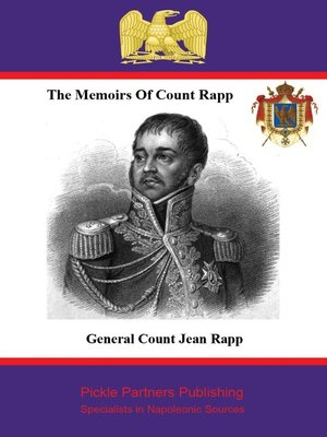 cover image of The Memoirs of Count Rapp