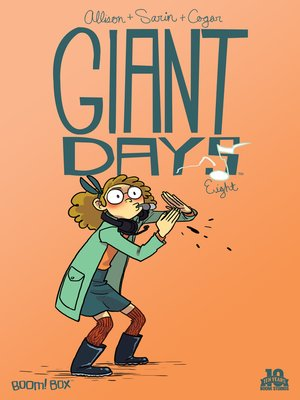 cover image of Giant Days (2015), Issue 8