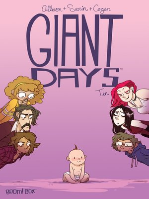 cover image of Giant Days (2015), Issue 10
