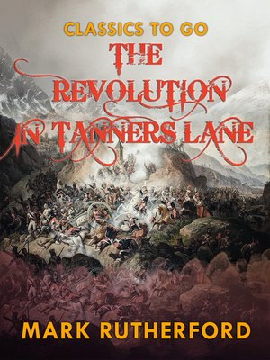 cover image of The Revolution in Tanner's Lane