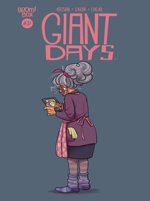 cover image of Giant Days (2015), Issue 37