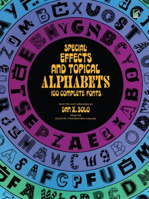 cover image of Special Effects and Topical Alphabets