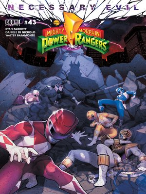 cover image of Mighty Morphin Power Rangers, Issue 43