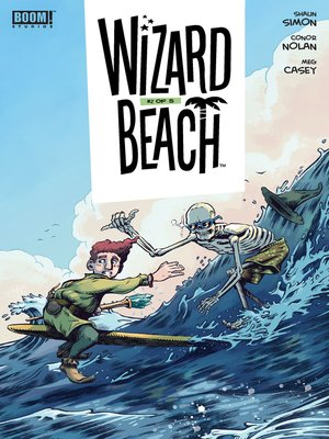 cover image of Wizard Beach, Issue 2