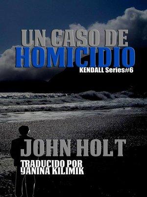 cover image of Un Caso De Homicido