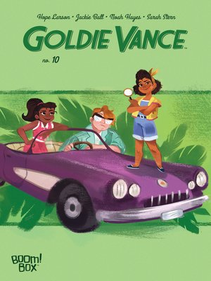 cover image of Goldie Vance, Issue 10