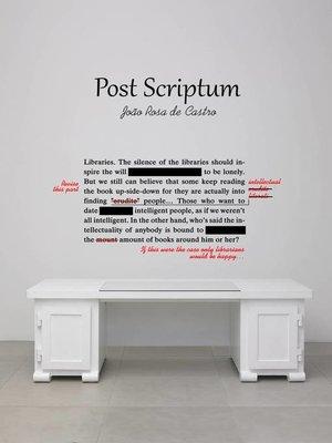 cover image of Post Scriptum