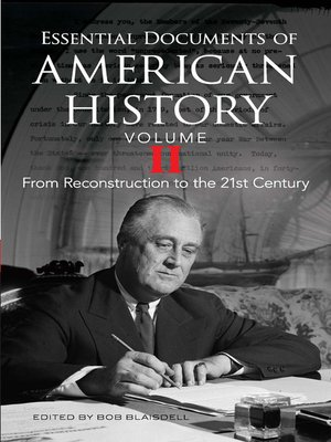 cover image of Essential Documents of American History, Volume II