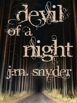 cover image of Devil of a Night