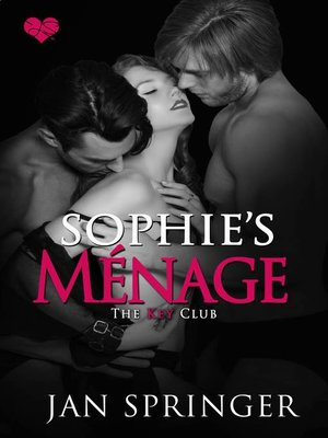 cover image of Sophie's Ménage