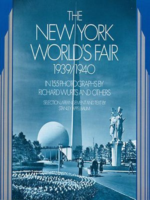 cover image of The New York World's Fair, 1939/1940