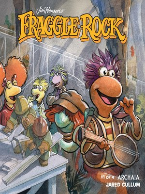 cover image of Jim Henson's Fraggle Rock, Issue 1