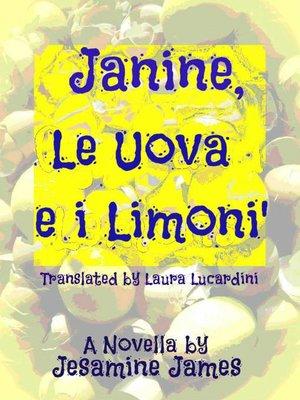 cover image of Janine, le uova e i limoni.