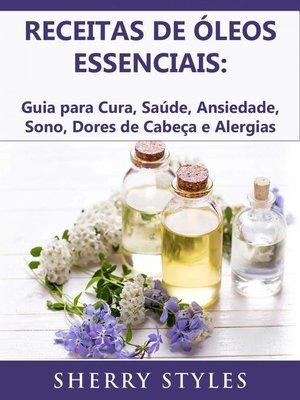 cover image of Receitas de óleos essenciais