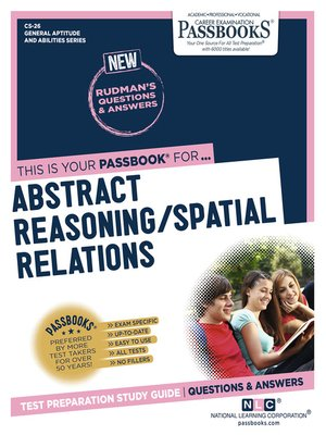 cover image of ABSTRACT REASONING / SPATIAL RELATIONS