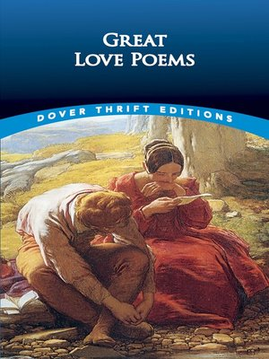 cover image of Great Love Poems