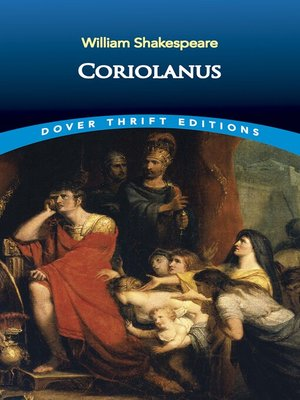 cover image of Coriolanus