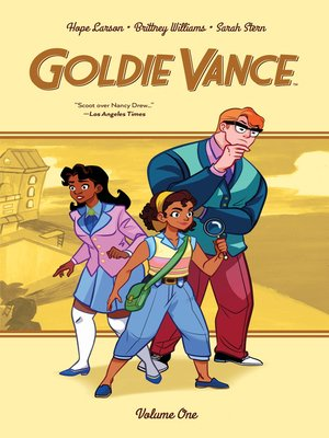 cover image of Goldie Vance Volume 1
