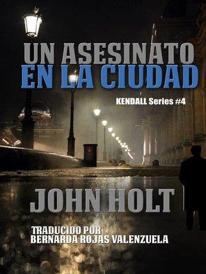 cover image of Un Asesinato En La Ciudad