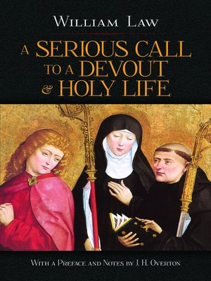 cover image of Serious Call to a Devout and Holy Life